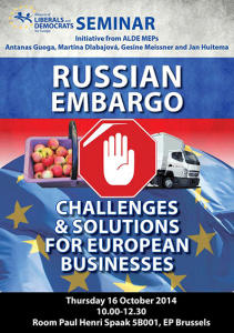 russian embargo jan huitema